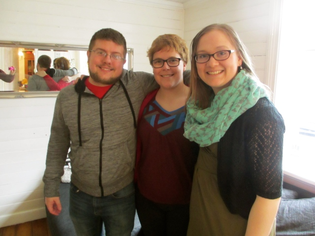 Sean, Amanda, and I