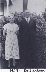 Sveinn og Helga 1948 Bellingham